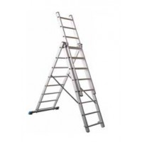 ESCALERA TRANSFORMABLE TRIPLE 8 PELDAÑOS LYTEC 1U