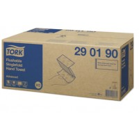 TOALLA PLEGADA V 2/C BLANCA FLUSHABLE TORK ADVANCED 23cm*23cm 250ser*15u