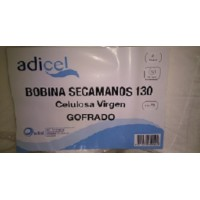 SECAMANOS PASTA 2/C ADICEL 130 GOF 120m*21cm 6u