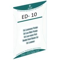 ETIQUETAS ED 10 AL USO 20u*etiquetas/botella*