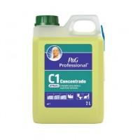 MR PROPER C1 CONCENTRADO PH NEUTRO SUELOS Y SUPERFICIES DELICADAS 2L
